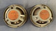 More details for pair of the legendary goodmans axiette 8 vintage loudspeaker drive units, 16 ohm