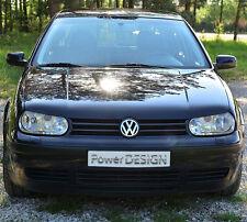 Le sopracciglia per VW Golf IV Mk 4 coperchi dei fari anteriori palpebre in plastica ABS