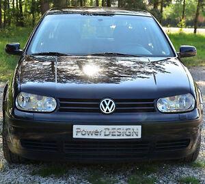 Eyebrows for VW GOLF IV  MK 4 1997-2006 headlight eyelids lids ABS Plastic