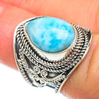 Larimar 925 Sterling Silver Ring Size 6 Ana Co Jewelry R47988F