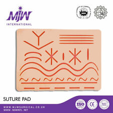 Suture Training Pad 3 Layer with 27 Wounds Silicon Skin Practice Kit Pads