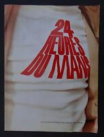 24 heures du MANS 1969 vue par MOREILLON SCHWEIZER HARRANG photo Porsche 12