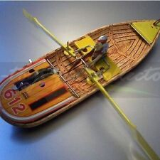 SUPER bella barca a remi da lithographierten finemente lamiera con movimento dell'orologio