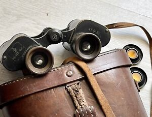 Rare Soviet Russian binoculars with hammer and sickle 1931 Fernglas