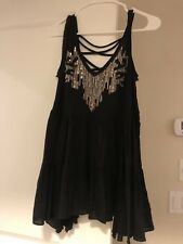 Free People Black Tunic XS
