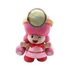 "Super Mario Artwork of Toadette for Captain Toad Treasure Tracker Plush Toy 8"""