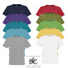 B&C MEN'S T-SHIRT 100% SOFT COTTON PRE SHRUNK CREW NECK TOP TEE COLOURS S-2XL