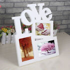 Durable Lovely Hollow Love Wooden Photo Picture Frame Rahmen DIY Home Decor C3B