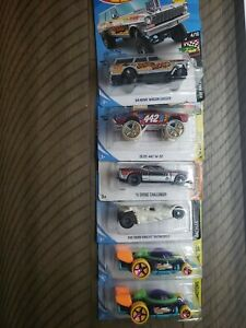 Hot Wheels Variety 6 Pack Random Cars Challenger 442 Batmobile + more Brand NEW