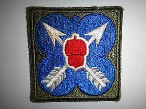 US Military XXI CORPS Machine Embroidered Patch