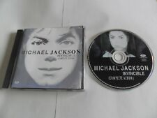 MICHAEL JACKSON - Invincible (CD 2001) CANADA Pressing