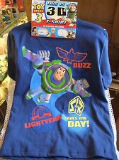Disney Pixar 3-D Toy Story 3 T-Shirt,& 3-D Glasses! Buzz Saves Day!  Var. Sizes