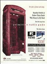 PRIMITIVE RADIO GODS Phone Trade Ad POSTER of Rocket CD