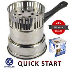 Electric Hookah Charcoal Burner Igniter Shisha Compact Coal Heater Hot UK SELLER