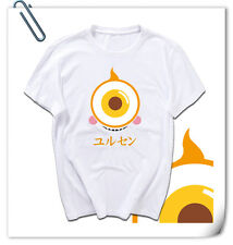 KAMEN MASKED RIDER GHOST cotton short sleeve T-shirt YURUSEN WHITE not eyecon