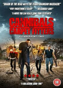 CANNIBALS AND CARPET FITTERS - DVD **NEW SEALED** FREE POST**