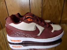 Nike SB Paul Rodriguez P-Rod 1 Size 6 Brown Orange