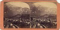 Denti Da Morcles Savoia Suisse Foto Stereo Vintage Albumina Ca 1865