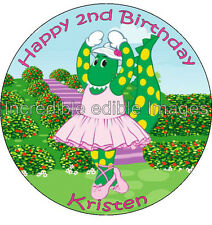 Dorothy The Dinosaur Wiggles Personalised Edible Cake Topper Party Decoration