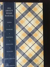 All About Home Cooking 1933 Hardcover 1st Edition