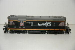 Proto 2000 HO Scale 23046 GP7 Diesel Locomotive Burlington Route CB&Q 254 Zephyr