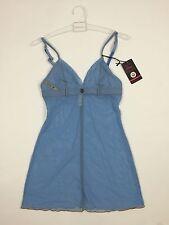 RPP 52£ Diesel Women's Lingerie Nightwear UFPT-Dial Petticoat Dress Size S Blue