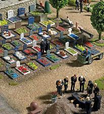 HS Busch 1090 Friedhof  Ausgestaltung Set Bausatz