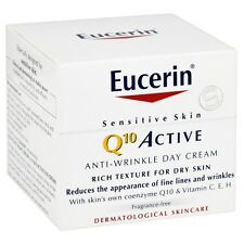 Eucerin Q10 Active Anti-Wrinkle Day Cream Dry Skin Cream 50ml
