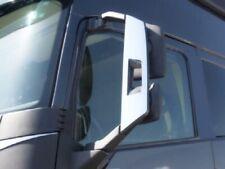 Specchio Acciaio Inox Lucidato Cover Per Ala Laterale Volvo FH4 2013+