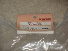 Kyosho FF23 FF-23 1/12 FF Front Wheel Drive Honda CRX CR-X Body NEW NIP NIB RC