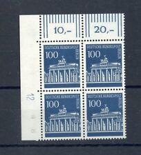 "Berlin Nº 290dz ** Eckrand-VB L.O. imprimante SIGNE"" 12"" me 125,- + + (137586)"