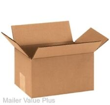 100 - 9 x 6 x 5 Corrugated Shipping Boxes Packing Storage Cartons Cardboard Box