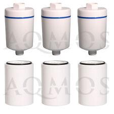 3 Duschfilter + 3 Wechselfilter Filter Kalkfilter Dusche Bad Hautpflege Chlor