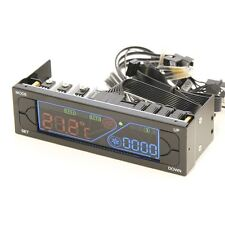 """Powercool ambiente LCD 5.25"""" Ventilador Mando 4 Velocidad/Control de temperatura"""