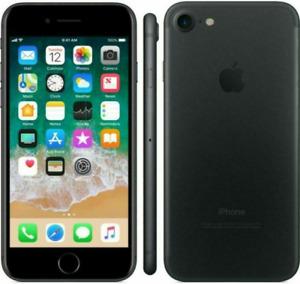 Apple iPhone 7 Unlocked 32GB Black - AT&T T-Mobile Verizon GSM Unlocked