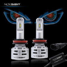 NOVSIGHT H11 H8 H9 LED Headlight Kit Car Driving Fog Lamp Bulbs DRL 10000LM/Pair