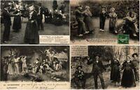 DANCING 41 Vintage Postcards Mostly pre - 1940