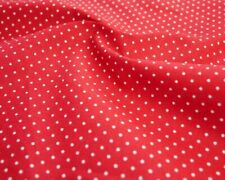 Lady Bird and Polka Dots Repeat 100/% Quality Cotton Poplin Fabric *Exclusive*