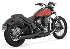 Vance & Hines Exhaust Matte Black Pro Pipe System Harley Davidson Softail  47527
