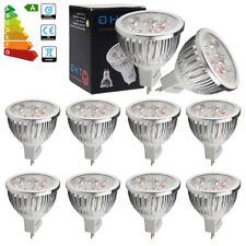 4x Bright MR16 6W LED Bulbs Spotlight Daylight GU5.3 50W Halogen Bulb Lamps UK