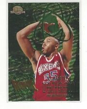 1995-96 SKYBOX PREMIUM BASKETBALL ATOMIC CLARENCE WEATHERSPOON #A10 - PHIL 76ERS