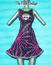 MONSTER HIGH POWER GHOULS SPECTRA POLTERGHOUL DOLL OUTFIT REPLACEMENT DRESS ONLY