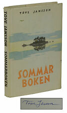Sommarboken ~ SIGNED by TOVE JANSSON ~ Summer Book Swedish Edition Moomin