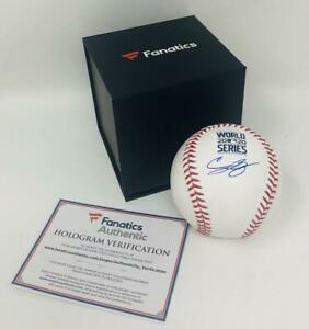 CODY BELLINGER Autographed Dodgers 2020 World Series Baseball FANATICS