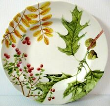 """WILLIAM SONOMA / SPODE  """"WOODLAND HARVEST / 9"""" PLATE""""  ~  **MADE IN ENGLAND** #1"""