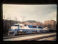 YY07 TRAIN SLIDE Railroad Short Line SD60 EMD1 1986