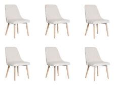 6x Design Polster Sitz Stühle Stuhl Seht Garnitur Sessel Lounge Club Set Lorenzo