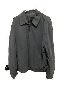 London Fog Men's Lightweight Casual Work Jacket Gray Size 46 Regular (XL) EUC