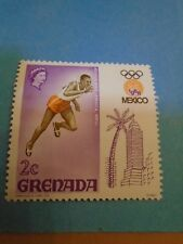 Grenada. QE2 1968 2c Olympic Games, Mexico. SG301. P12½. Mint Hinged.