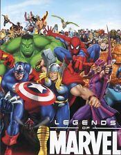 Marvel Legends of Marvel Empty Card Album